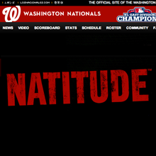 Washington Nationals - Natitude